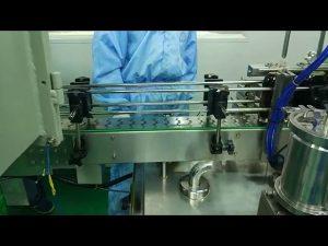 30ml至100ml圓瓶雙道灌裝旋擰機