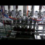 線性自動四頭活塞瓶粘稠番茄醬汁液體包裝灌裝機