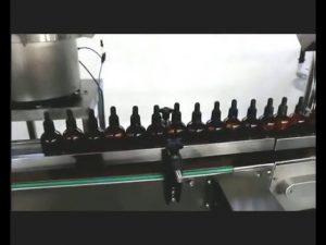 自動指甲油香水滴眼液藥水灌裝旋蓋機