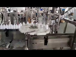 化妝品醫用塑料瓶灌裝旋蓋機