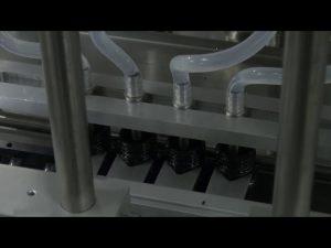 10ml-5l 6頭自動台式精確液體灌裝機
