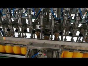 12頭番茄醬油醬油化妝品自動灌裝機